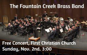 Fountain Creek Brass Band Concert at First Christian
