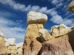 Exploring Hoodoos at the Paint Mines Interpretive Park