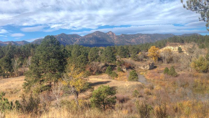 Views From Colorado Springs Santa Fe Trail