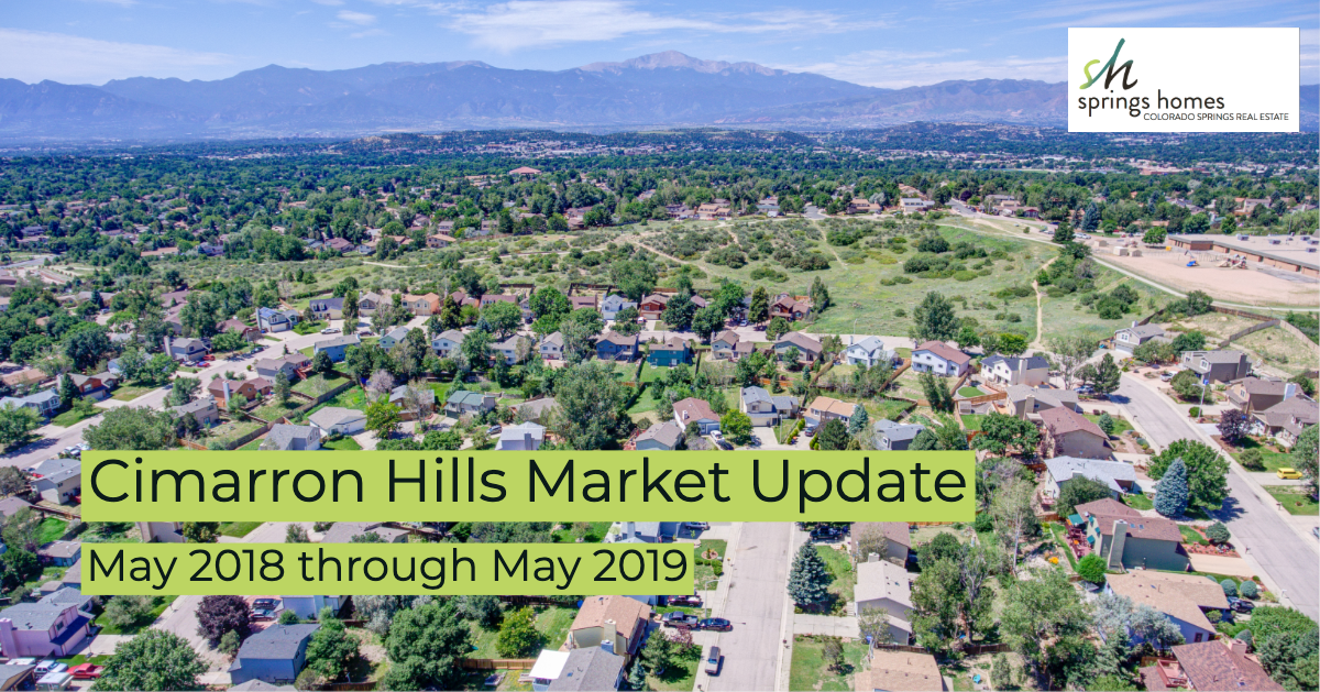 Cimarron Hills Market Report: May 2018 through May 2019