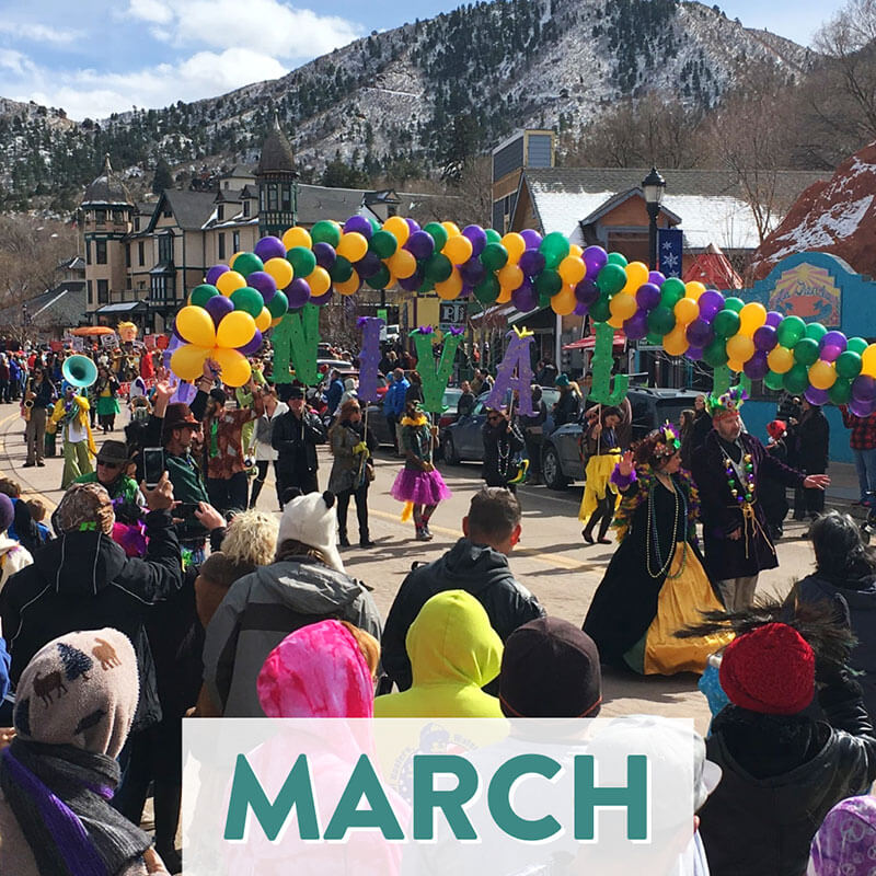 Popular Annual Events Unique to Colorado Springs and the Front Range - March