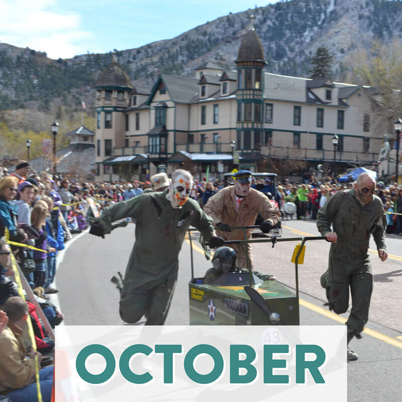 Popular Annual Events Unique to Colorado Springs and the Front Range - October